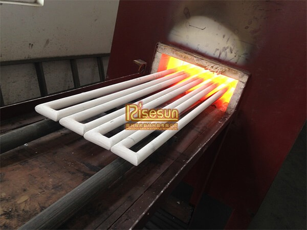 Coating SiC heating elements