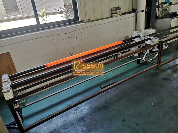 DL type SiC heating elements